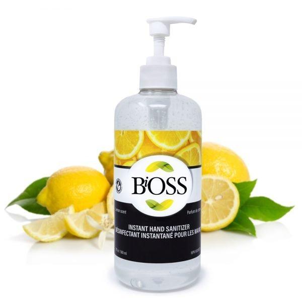 gesani désinfectant pour les mainns Bioss
