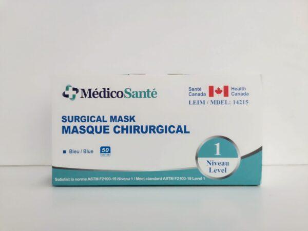 Masque de procédure ASTM Niveau 1
