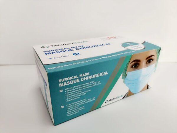 Medical mask ASTM Level 2