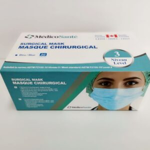 Masque chirurgical ASTM Niveau 3
