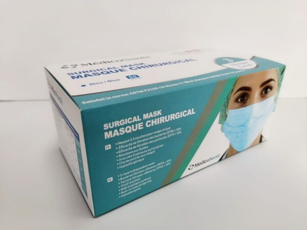 Masque de procédure ASTM Niveau 3